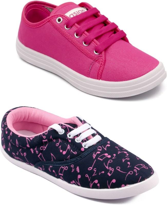 ASIAN Casual shoes,Running shoes,Walking shoes,Loafers,Sneakers,Traning shoes,Gym shoes. Sneakers For Women(Pink)