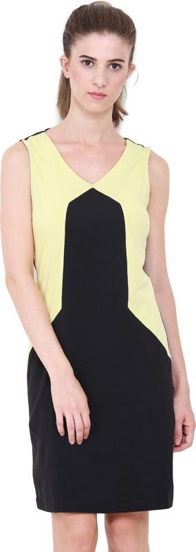 Heather Hues Women A-line Black Dress