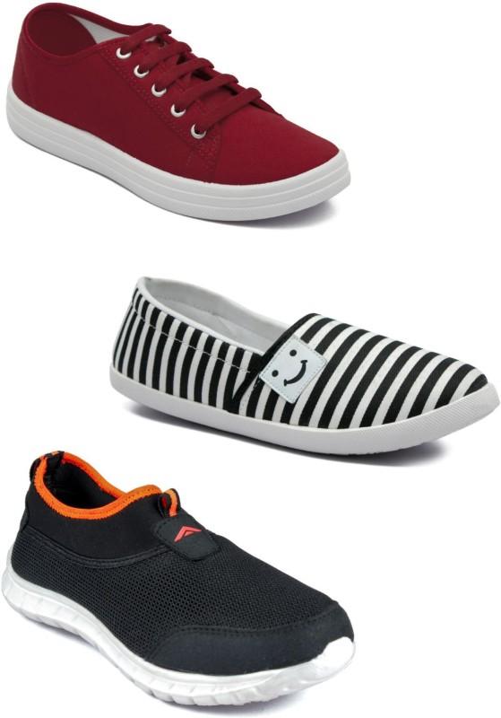 ASIAN Casual shoes,Running shoes,Walking shoes,Loafers,Sneakers,Traning shoes,Gym shoes. Sneakers For Women(Maroon)