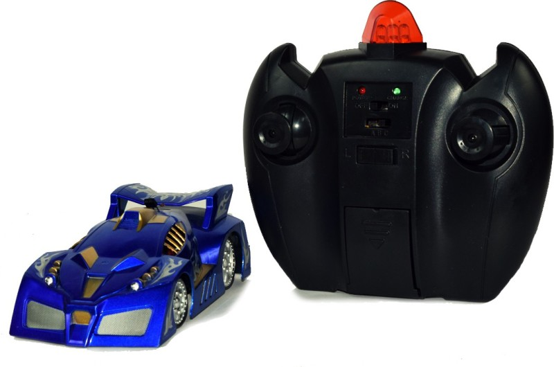 Gooyo Radio Control Wall Climber Car With Chargeable Batteries(Blue)