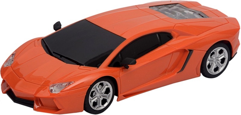 Gooyo Steering Radio Control 1:22 High Speed Racing Car with Chargeable Batteries(Orange)