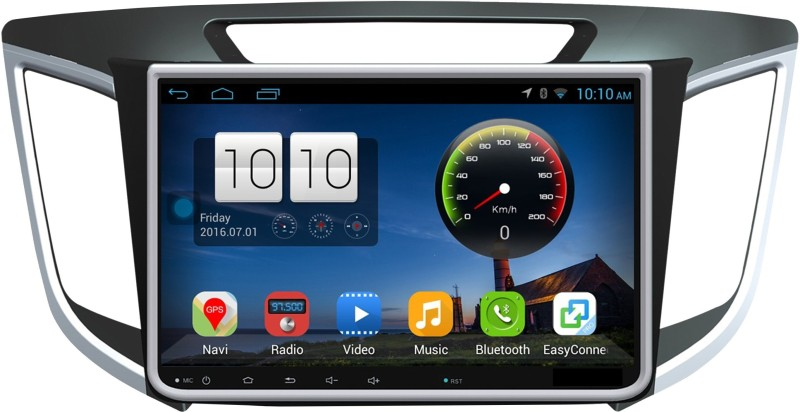 DealT 10.1 Inch Android 8.1 Os Quad Core with 2GB RAM Car Stereo(Double Din)