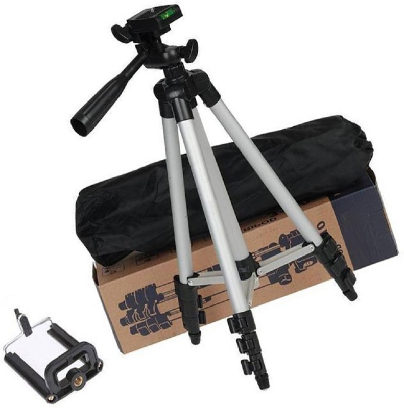 lifemusic you are a Novice or Professional photographer, you will need a steady and robust tripod for many of those wonderful photo Tripod(Silver & Black, Supports Up to 1500)