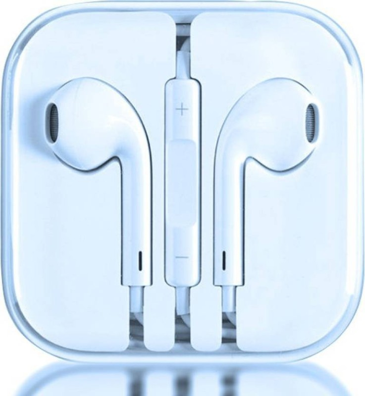 M-tech Original Earphone bass heads-200 Wired Headset with Mic In the Ear Earphone Cable Organizer
