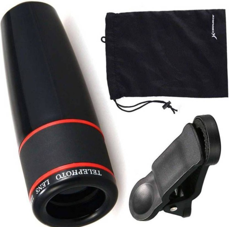 CALLIE 12x Zoom Mobile Phone Telescope Optical Lens Magnifier for All Android Mobile Phone Lens