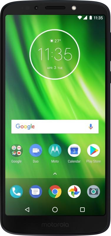 (Refurbished) MOTOROLA Moto G6 Play (Indigo Black, 32 GB)(3 GB RAM)