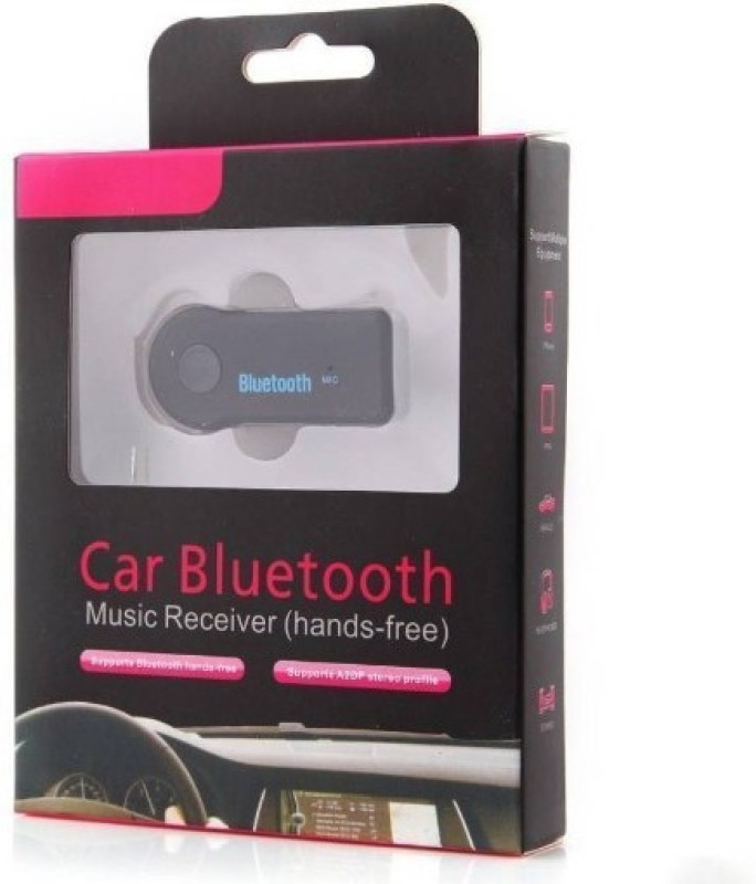SACRO v4.1 Car Bluetooth Device with Audio Receiver, Transmitter, 3.5mm Connector, MP3 Player(Multicolor)