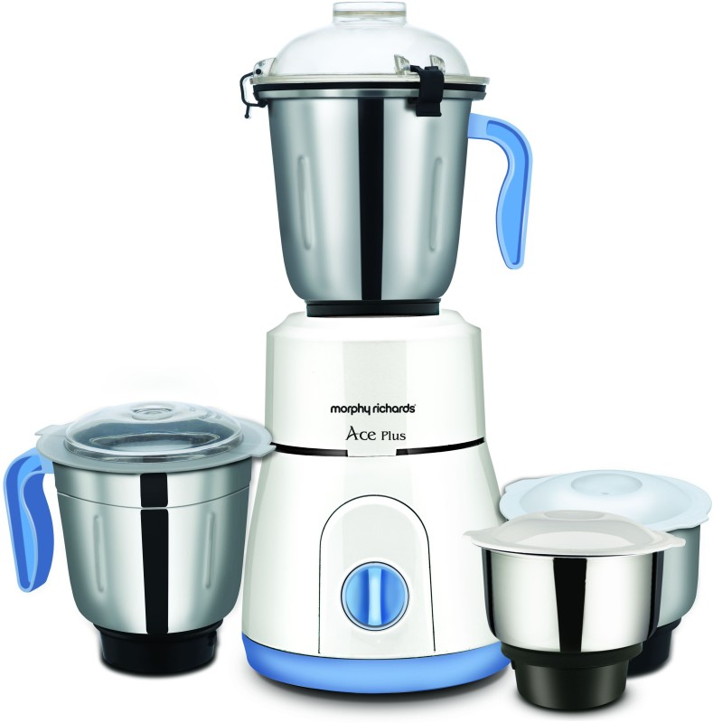Morphy Richards 640090 Ace Plus 750 W Mixer Grinder(White, 3 Jars)