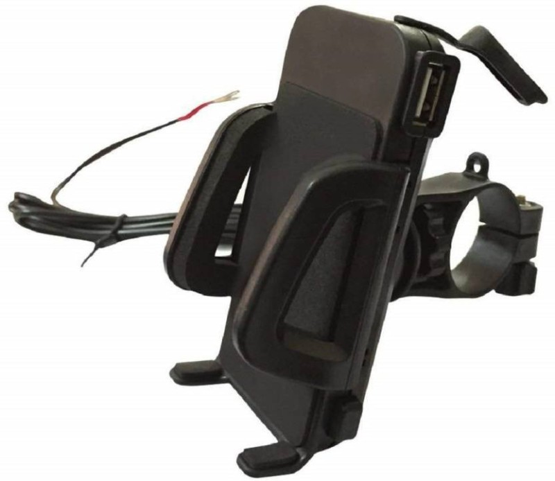 cosmetize Bike/Bicycle Mobile Holder With Charger 5 A Bike Mobile Charger