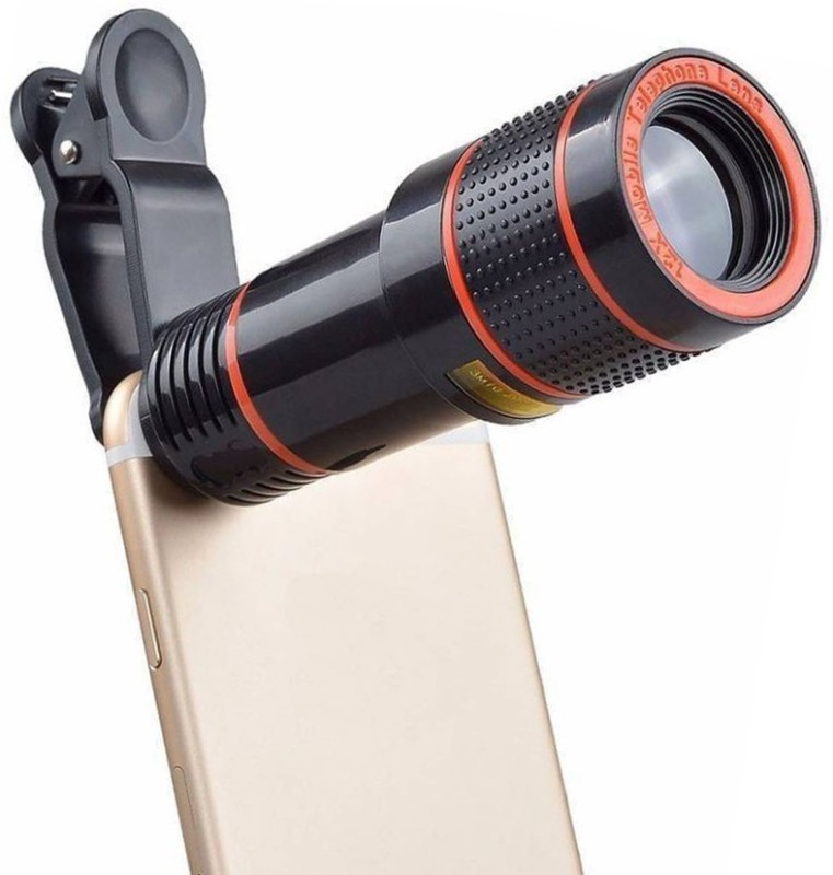 OSRAY Light Weight Universal 8X Zoom Mobile Phone Telescope HD Lens Mobile Phone Lens