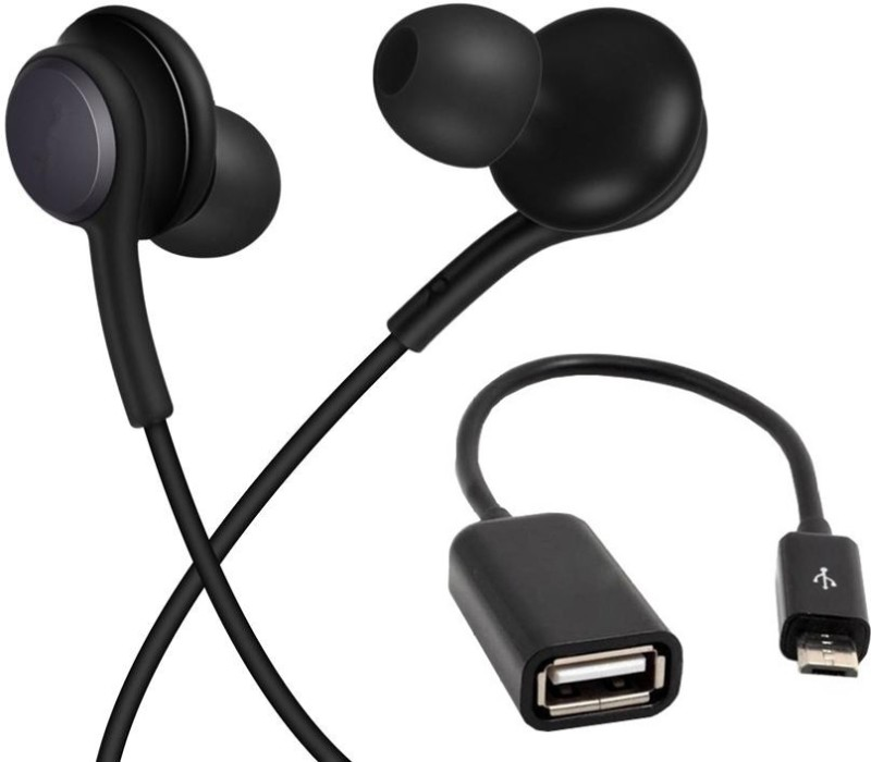 WEBSTER Headset Accessory Combo for SAMSUNG, VIVO, REDMI, OPPO, HTC, NOKIA, ALL ANDROID SMARTPHONES(Black)