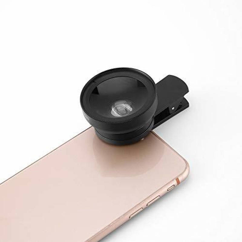 ASTOUND Iphone Lens Attachment,Iphone Lens Kit 2in1 0.45x Super Wide Lens & 10x Macro Lens for Iphone 6 7 8 8P Mobile Phone Lens