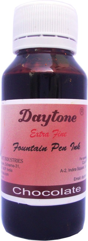 Daytone Extra Fine Chocolate 60 Ml Pack of 15 Ink Bottle(Pack of 15)