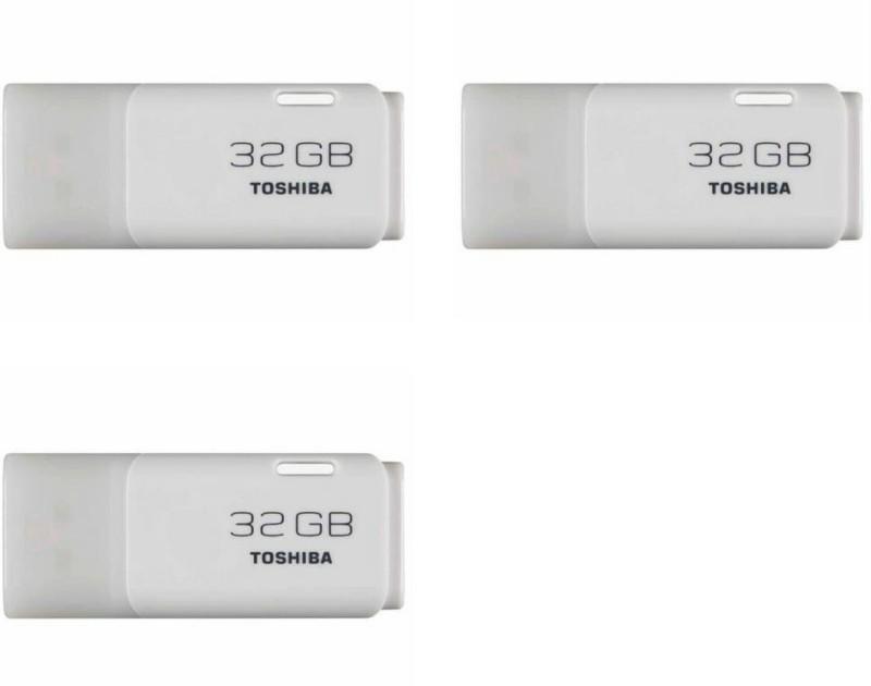 Toshiba USB 2.0 U-202 32 GB Pen Drive(White)