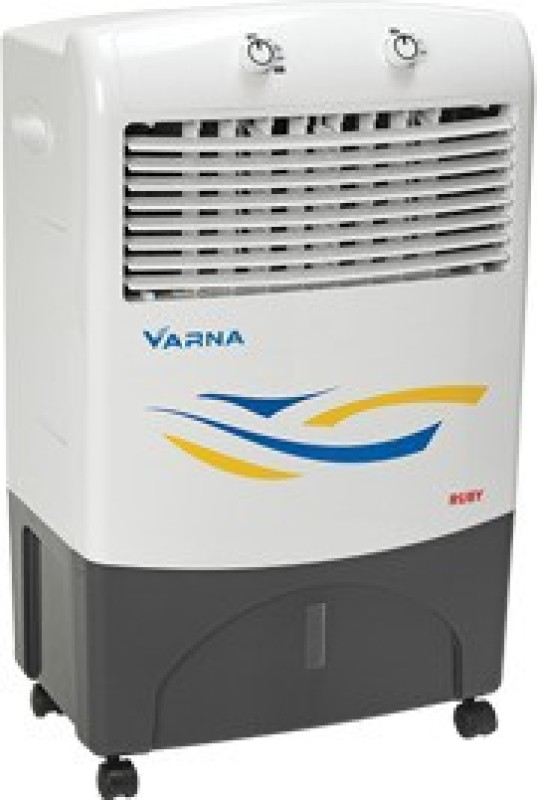 varna 20 L Desert Air Cooler(White, Ruby 20)
