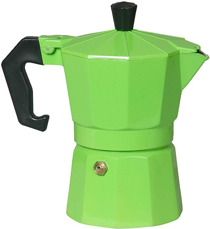 3dcreations Green_03 3 Cups Coffee Maker(Multicolor)