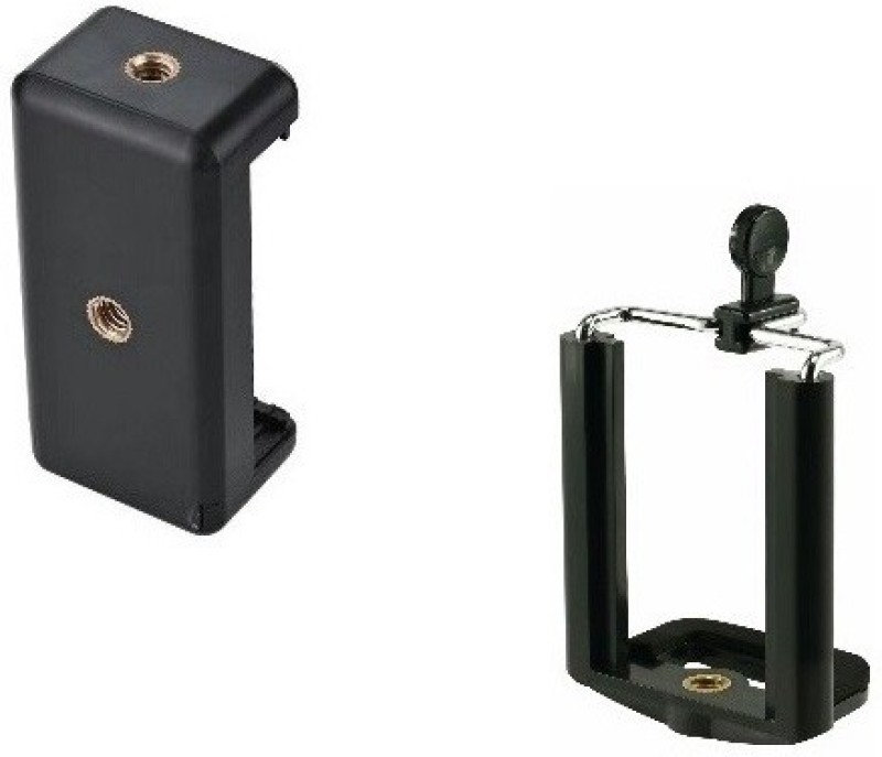 Freya PACK OF 2 Camera Stand Clip Bracket MOBILE Holder Monopod / Mount Adapter Laboratory Tripod Stand