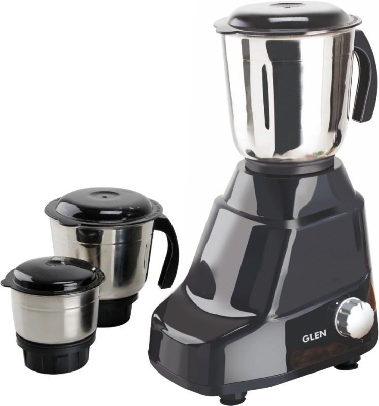 GLEN Mixer Grinder Juicer SA 4020 Black with 3 Jars 1.5 liters 500 Mixer Grinder(Black, 3 Jars)