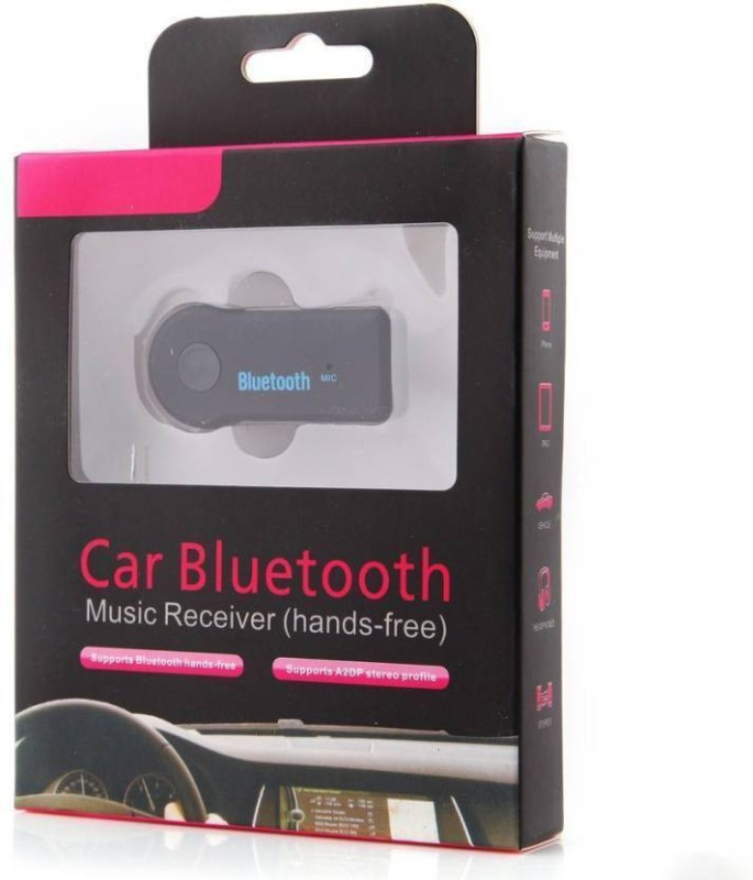 BISMAADH v4.1 Car Bluetooth Device with Adapter Dongle(Black)