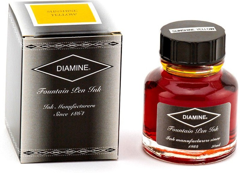 Diamine SUNSHINE YELLOW 30 ML Ink Bottle