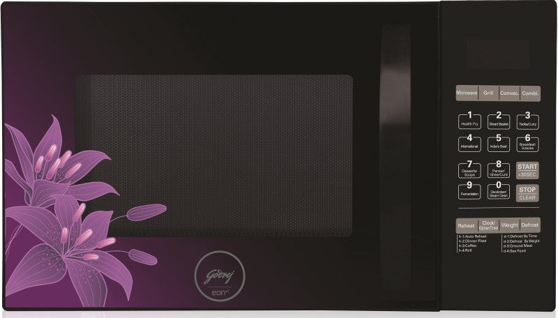 Godrej 34 L Convection & Grill Microwave Oven(GME 734 CR1 PM, BLACK)