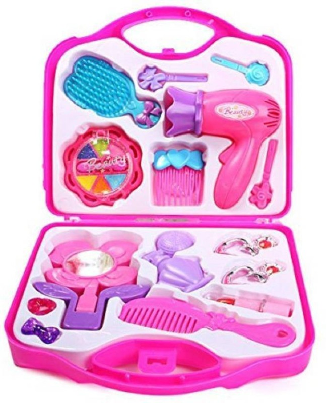 Galaxies Beauty Set with Hair Dryer and Accessories Toys for Kids, Multi Color