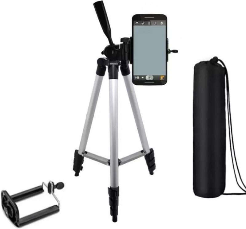 LIFEMUSIC bEST ArrivaL Tripod 3110 Tripod Kit(Silver, Black, Supports Up to 3000 g)