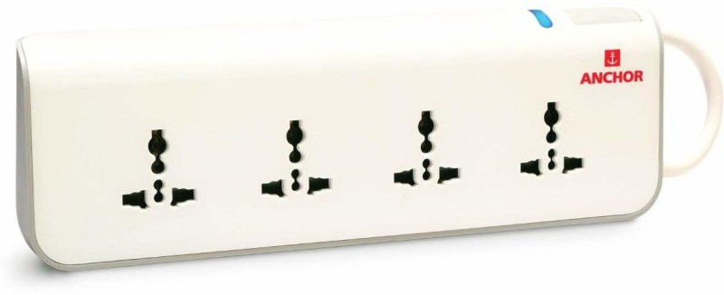 Anchor surge protector 4  Socket Extension Boards(White)