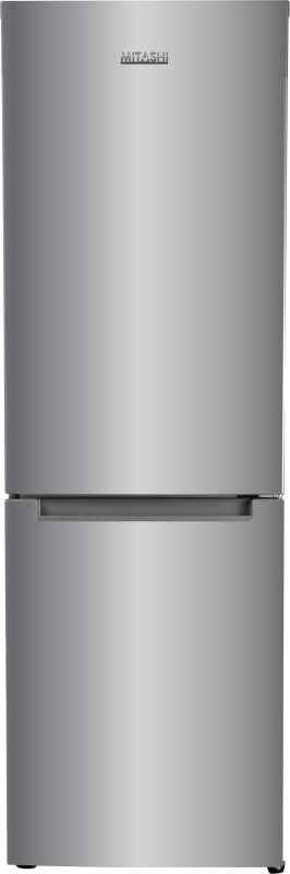 Mitashi 345 L Frost Free Double Door Bottom Mount 2 Star (2019) Refrigerator(Silver, MiRFBMF2S345v20)