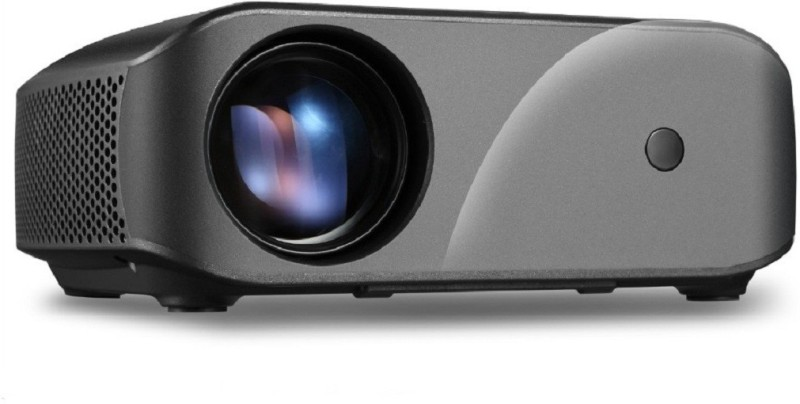 AUNVIVIBRIGHT F10 Projector 2800 Lumens 720P Home Theater Video Projector 2800 lm LED Corded Portable Projector(Black)