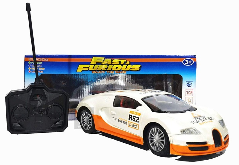 b bros Fast & Furious 1:16 Radio Control Car with 4*AA Batteries(Multicolor)