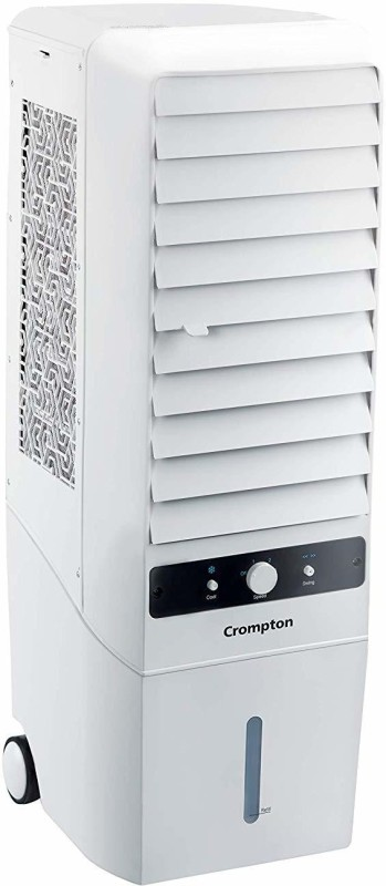 Crompton 34 L Tower Air Cooler(White, MYSTIQUE TURBO 34)