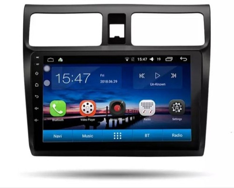 Cave RJ-137 (T3 Solution) 10 Inch Full Touch Display Compatible for Maruti Swift 2009-2016 Car Auto Android Music System with Reverse Camera (2GB RAM + 32GB Internal Memory) Car Stereo(Double Din)