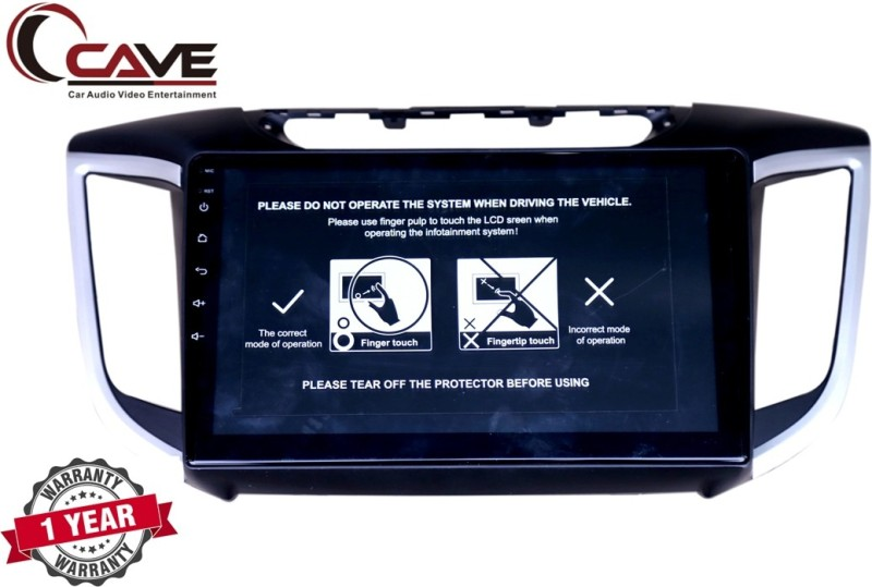 Cave RJ-138 _1 (10 inch HD Display/ WiFi/ Bluetooth/ USB/ Quad Core Processor Car Stereo(Double Din)