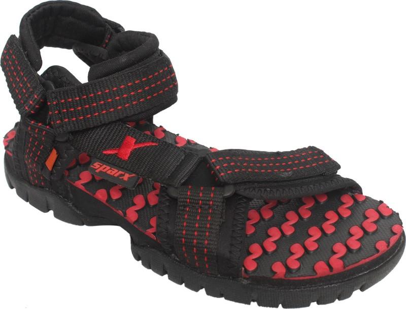 Sparx Women Black, Red Sports Sandals
