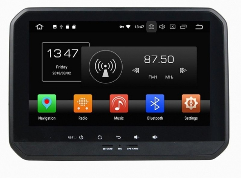 Cave RJ-164 (T3 Solution) 10 Inch Full Touch Display Car Stereo(Double Din)