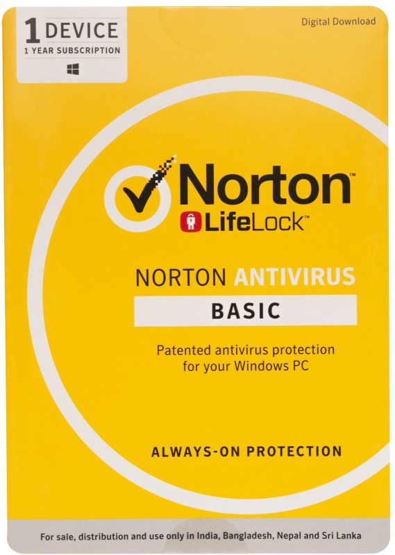 Norton Anti Virus 1 User 1 Year(Voucher)