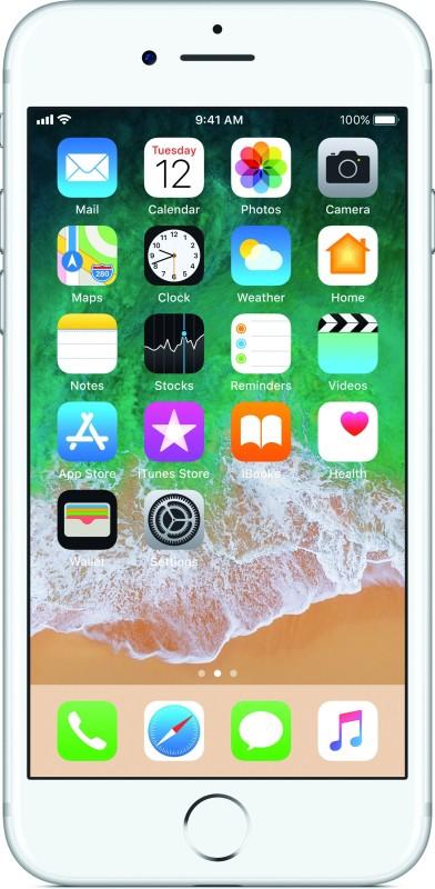 (Refurbished) APPLE iPhone 7 (Silver, 32 GB)