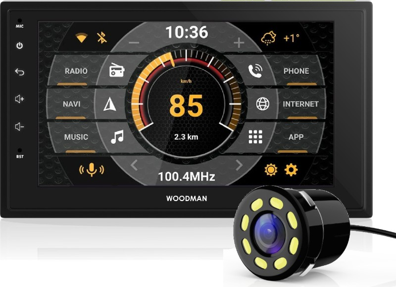 """Woodman Neo2 7"""" HD Touch Screen (IPS Glass) Android 8.1 Car Stereo Double Din Car Stereo(Double Din)"""