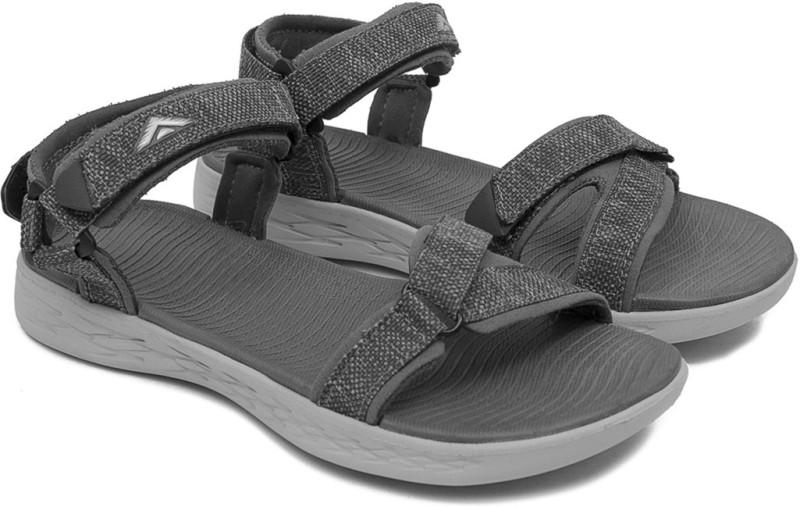 Asian Women Grey, Grey Sports Sandals