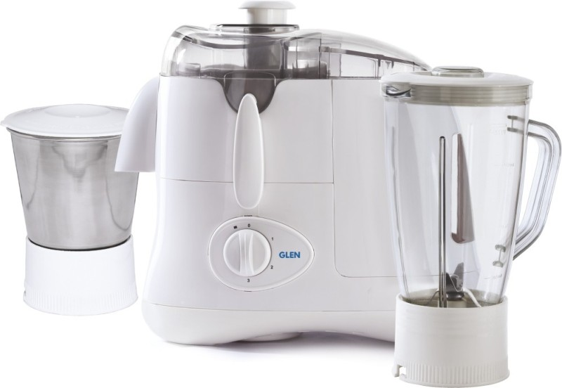 GLEN SA4011 500 Juicer Mixer Grinder(White, 2 Jars)