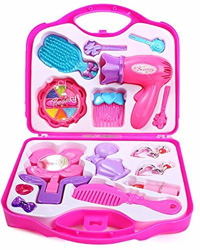 Rayfin Beauty Set with Hair Dryer and Accessories Toys for Kids