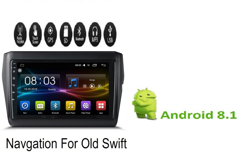 AUTO SNAP Car Android Car Stereo(Double Din)