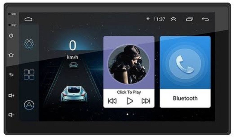 DealT 9 Inch Android Gps 8.1 Version Car Stereo(Double Din)