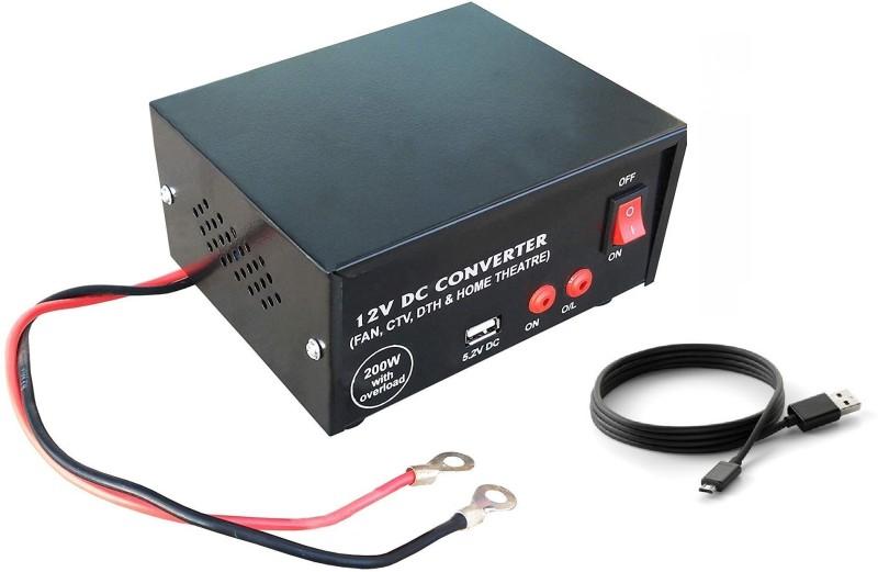 ERH India USB 200 Watt DC to AC Car Inverter for Multiple Applications Car Inverter