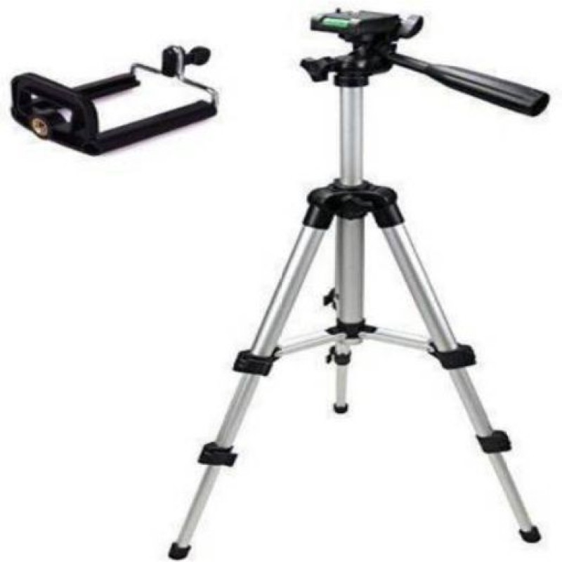 GUGGU VGQ_594V_3110 Tripod smart phones compatiable Portable tripod with bluetooth remote||360 degree tripod|| Foldable triopod|| Camera stand|| Mobile Tripod|| Camcorder tripod|| Camera mount|| Extendable tripod||Three-Dimensional Head & Quick Release Plate|| Compatible with android & IOS smart pho