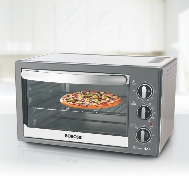 Borosil 42-Litre BR 00A 42 Oven Toaster Grill (OTG)(SILVER)