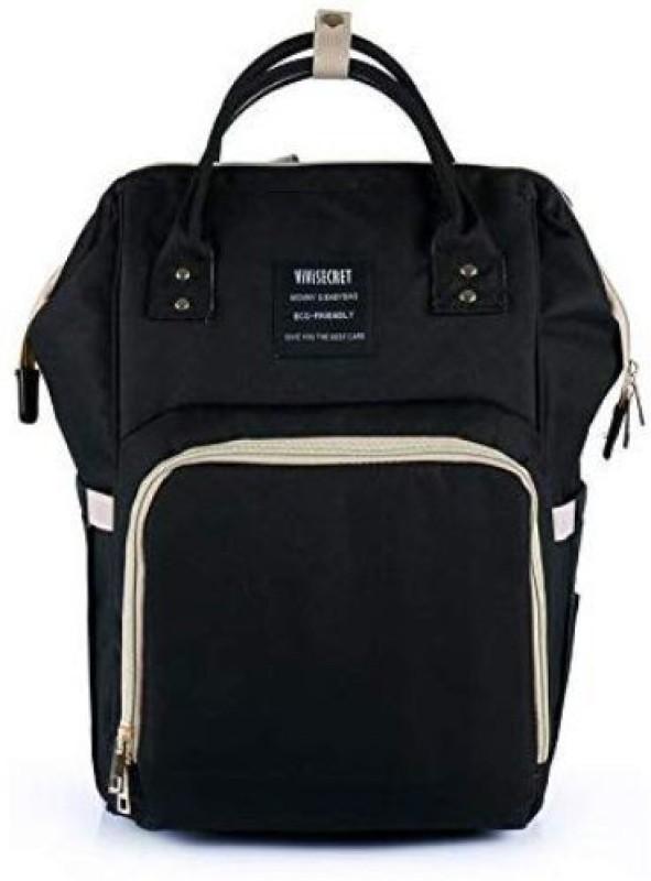 Vivisecret Stylish Fashion Messenger Diaper Bag(Black)