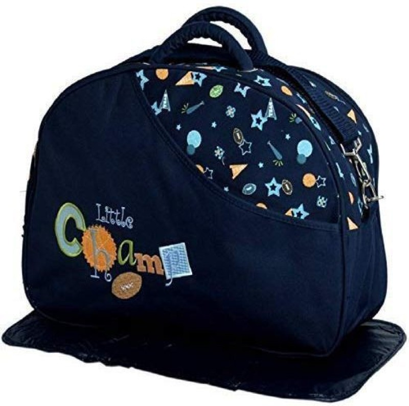 Teeny Weeny Baby Care Messenger Diaper Bag(Blue)