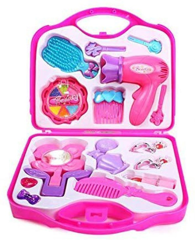 Kulsoom Enterprises Beauty Set with Hair Dryer And Accessories Toys